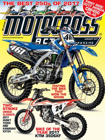 Motocross Action Cover - 1/1/2017