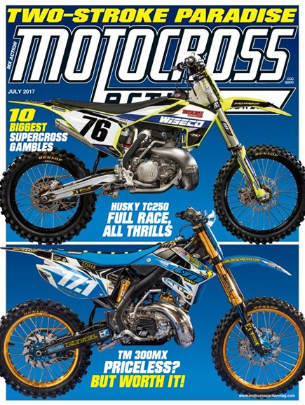 Motocross Action Cover - 7/1/2017