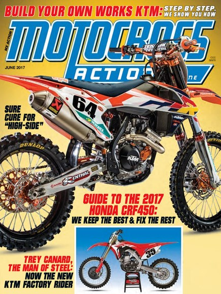 Motocross Action Cover - 6/1/2017