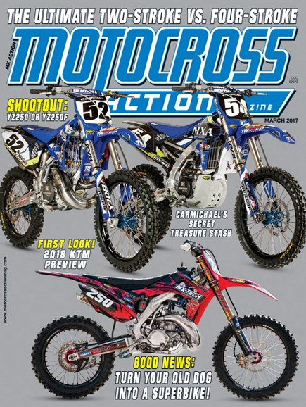 Motocross Action Cover - 3/1/2017