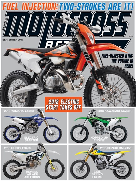 Motocross Action Cover - 9/1/2017