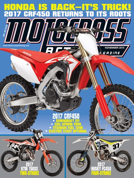 Motocross Action Cover - 11/1/2016