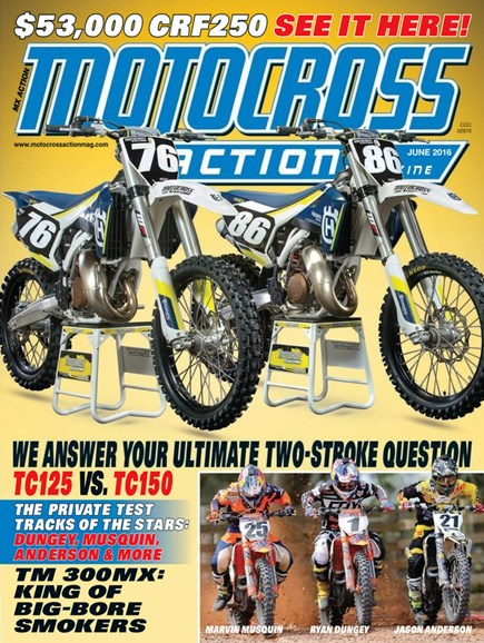 Motocross Action Cover - 6/1/2016