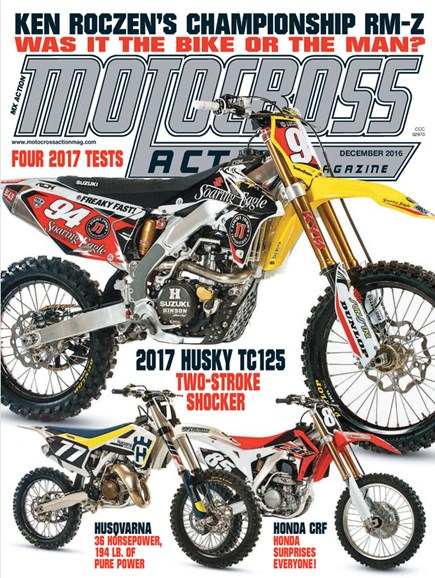 Motocross Action Cover - 12/1/2016