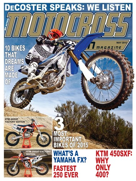 Motocross Action Cover - 5/1/2015