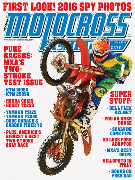 Motocross Action Cover - 7/1/2015