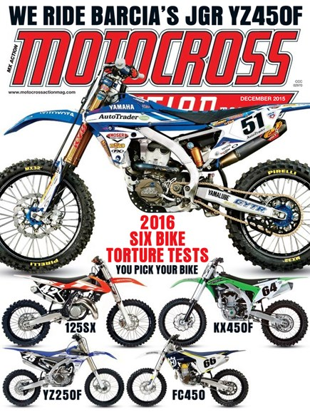Motocross Action Cover - 12/1/2015