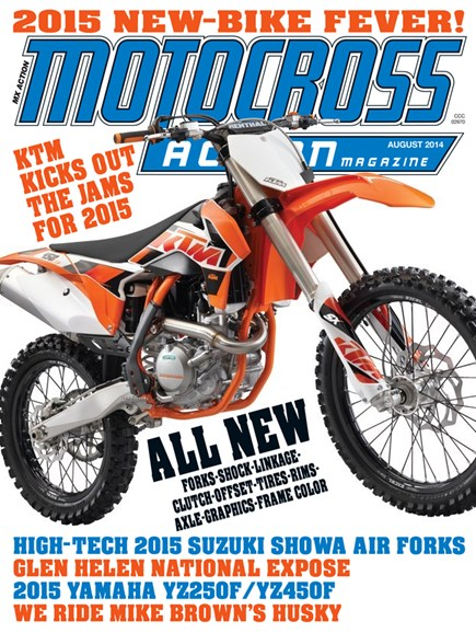 Motocross Action Cover - 8/1/2014