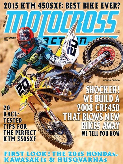 Motocross Action Cover - 9/1/2014