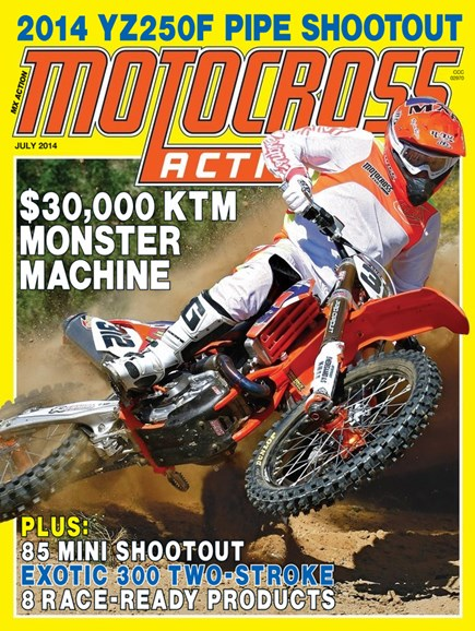 Motocross Action Cover - 7/1/2014