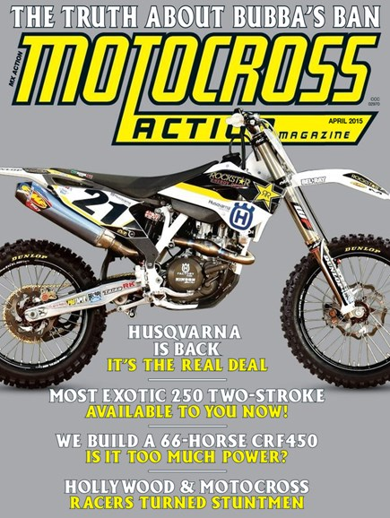 Motocross Action Cover - 4/1/2015