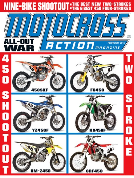 Motocross Action Cover - 2/1/2015
