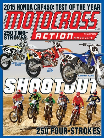 Motocross Action Cover - 1/1/2015