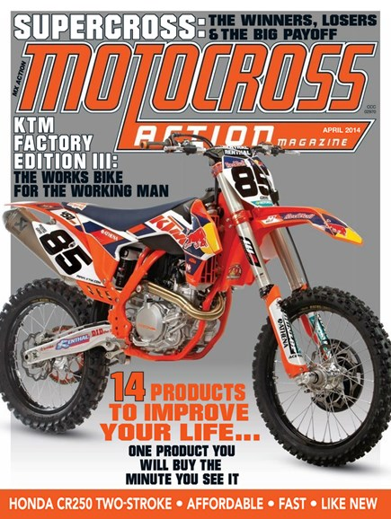 Motocross Action Cover - 4/1/2014