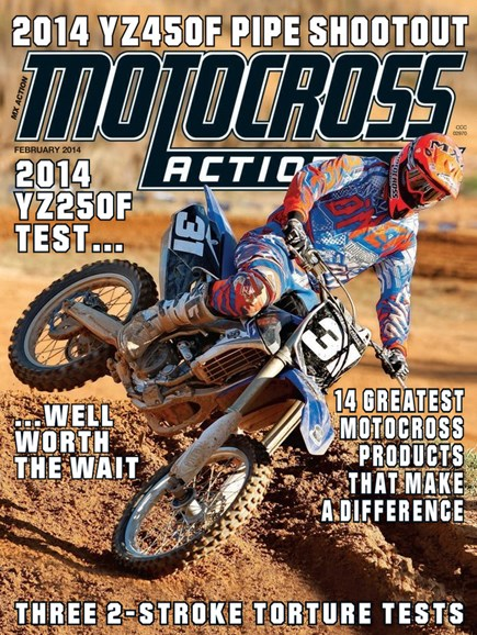 Motocross Action Cover - 2/1/2014