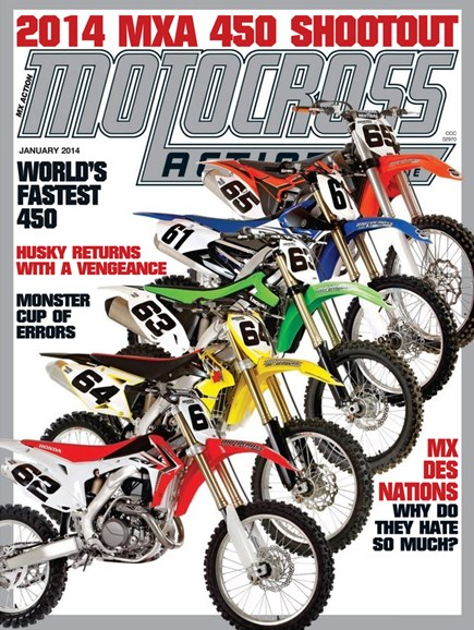 Motocross Action Cover - 1/1/2014