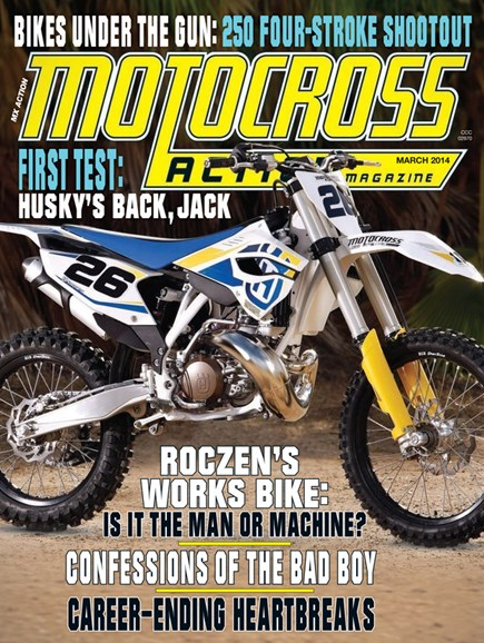 Motocross Action Cover - 3/1/2014
