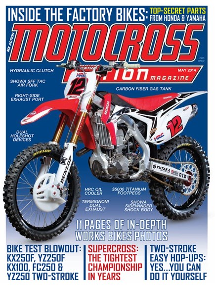 Motocross Action Cover - 5/1/2014