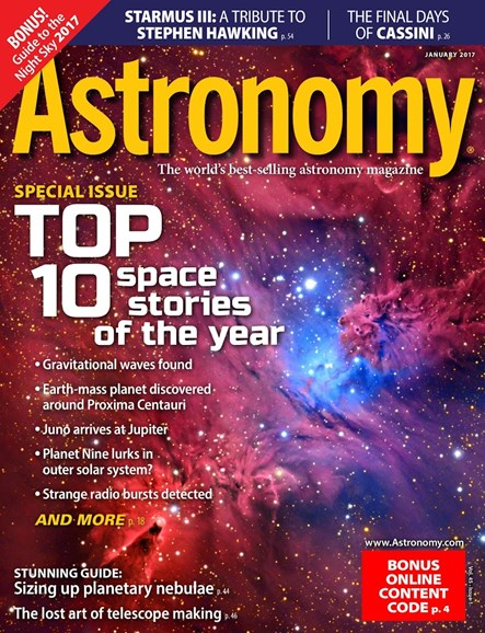 Astronomy Cover - 1/1/2017