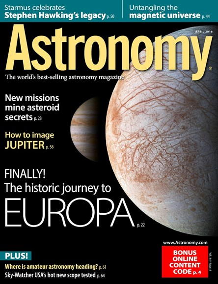 Astronomy Cover - 4/1/2016