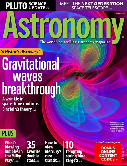 Astronomy Cover - 5/1/2016
