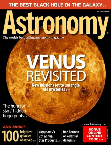 Astronomy Cover - 10/1/2016