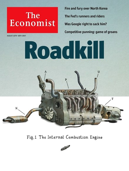 The Economist Cover - 8/12/2017