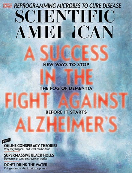 Scientific American Cover - 4/1/2017