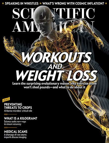 Scientific American Cover - 2/1/2017