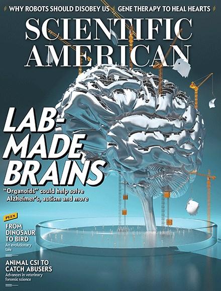 Scientific American Cover - 1/1/2017