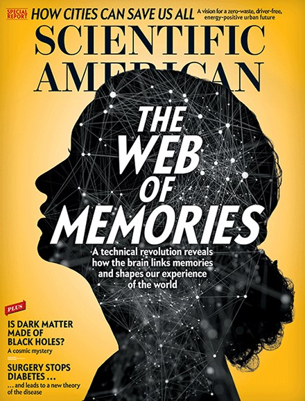 Scientific American Cover - 7/1/2017