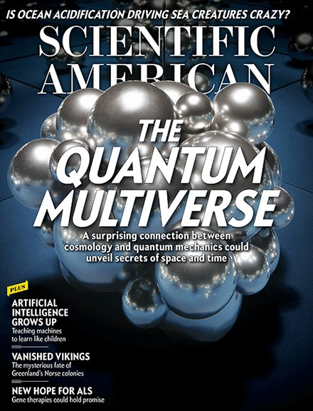 Scientific American Cover - 6/1/2017