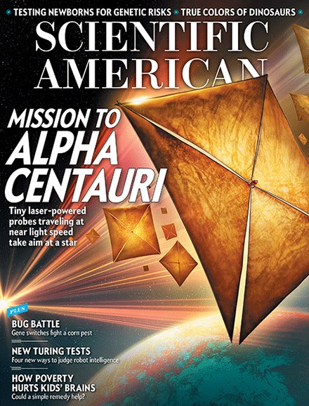 Scientific American Cover - 3/1/2017