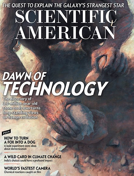 Scientific American Cover - 5/1/2017