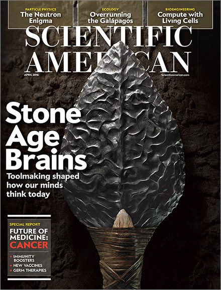 Scientific American Cover - 4/1/2016