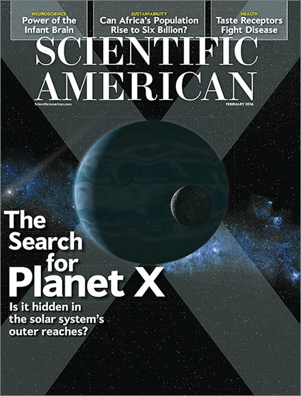 Scientific American Cover - 2/1/2016