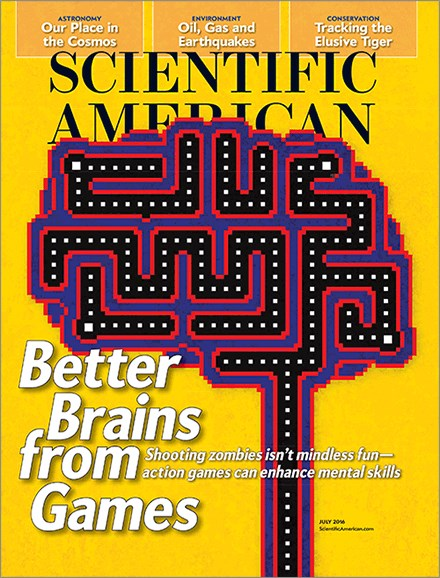 Scientific American Cover - 7/1/2016