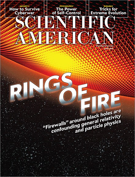 Scientific American Cover - 4/1/2015