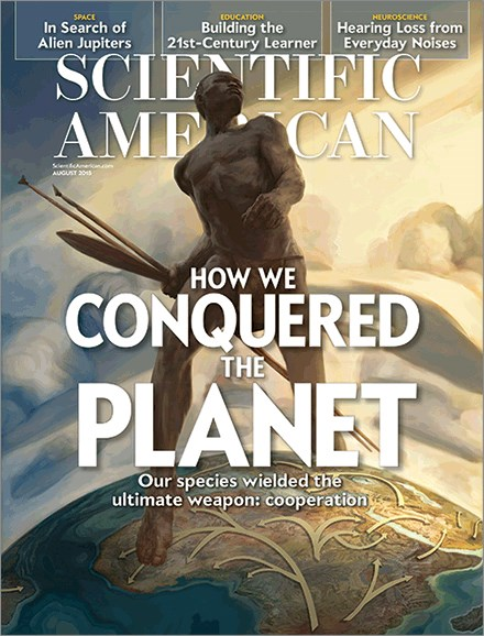 Scientific American Cover - 8/1/2015