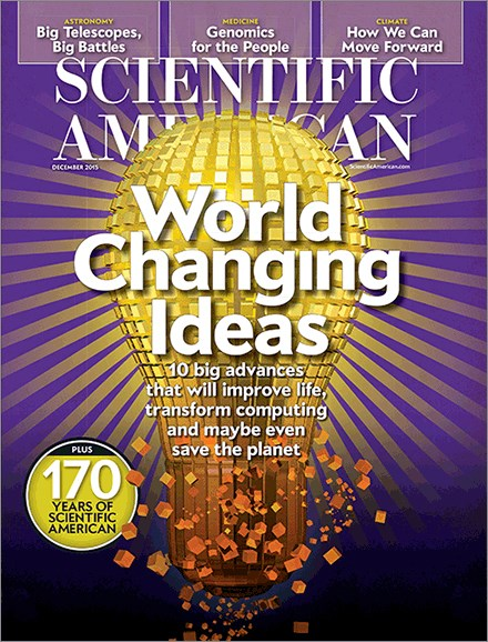 Scientific American Cover - 12/1/2015