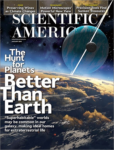 Scientific American Cover - 1/1/2015