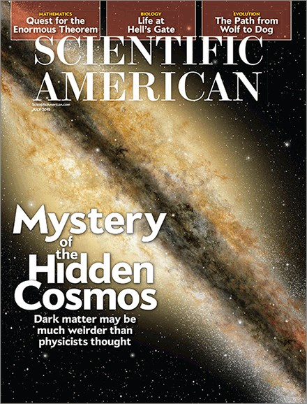 Scientific American Cover - 7/1/2015