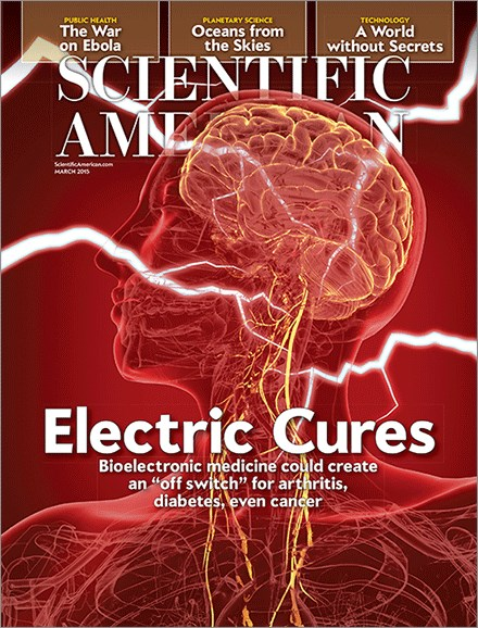 Scientific American Cover - 3/1/2015