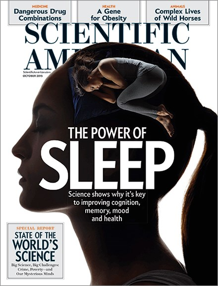 Scientific American Cover - 10/1/2015