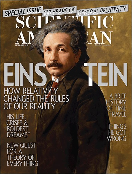 Scientific American Cover - 9/1/2015