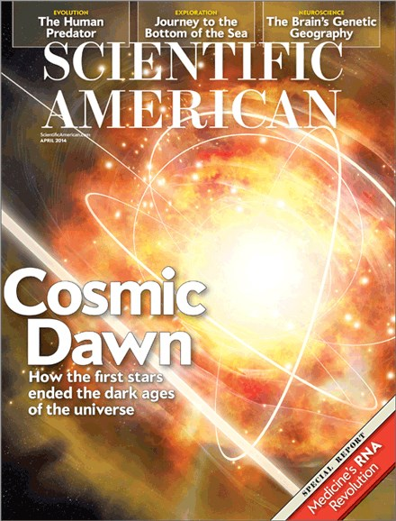 Scientific American Cover - 4/1/2014