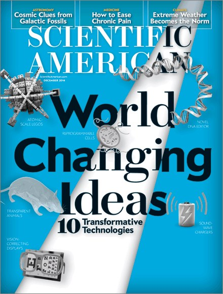 Scientific American Cover - 12/1/2014