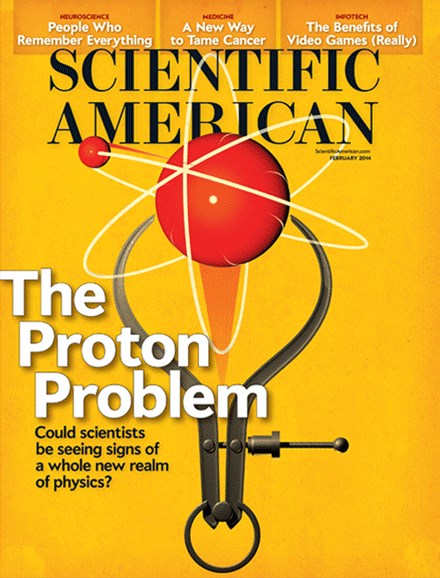 Scientific American Cover - 2/1/2014