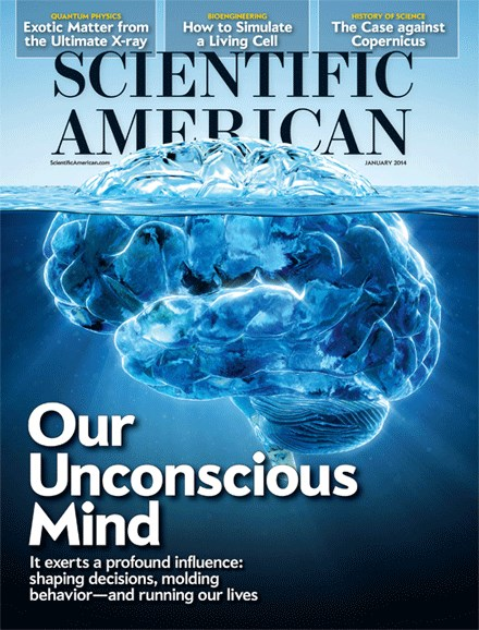 Scientific American Cover - 1/1/2014