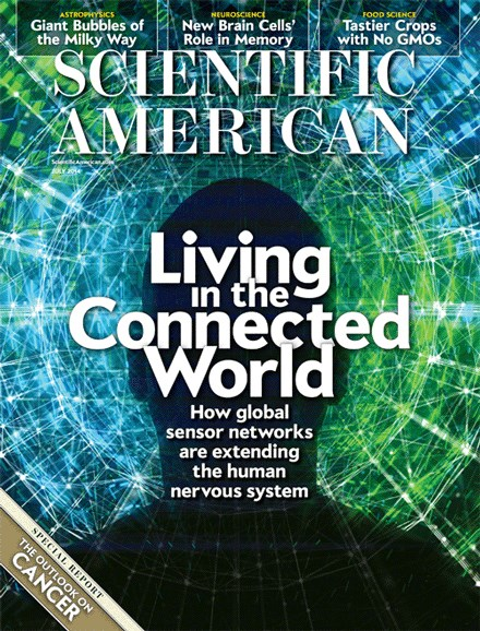 Scientific American Cover - 7/1/2014